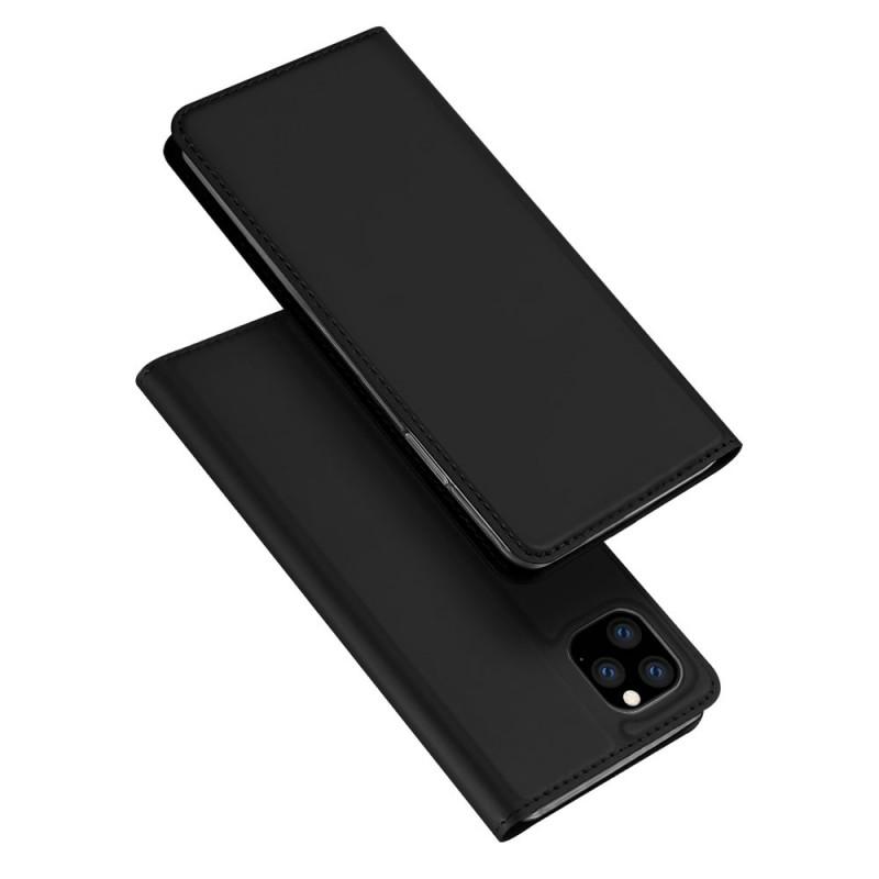 Husa iPhone 11 Pro Max tip carte Dux Ducis Skin Pro, Black