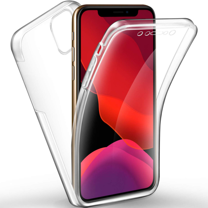 Husa iPhone 11 Pro Max TPU Full Cover 360, Transparenta