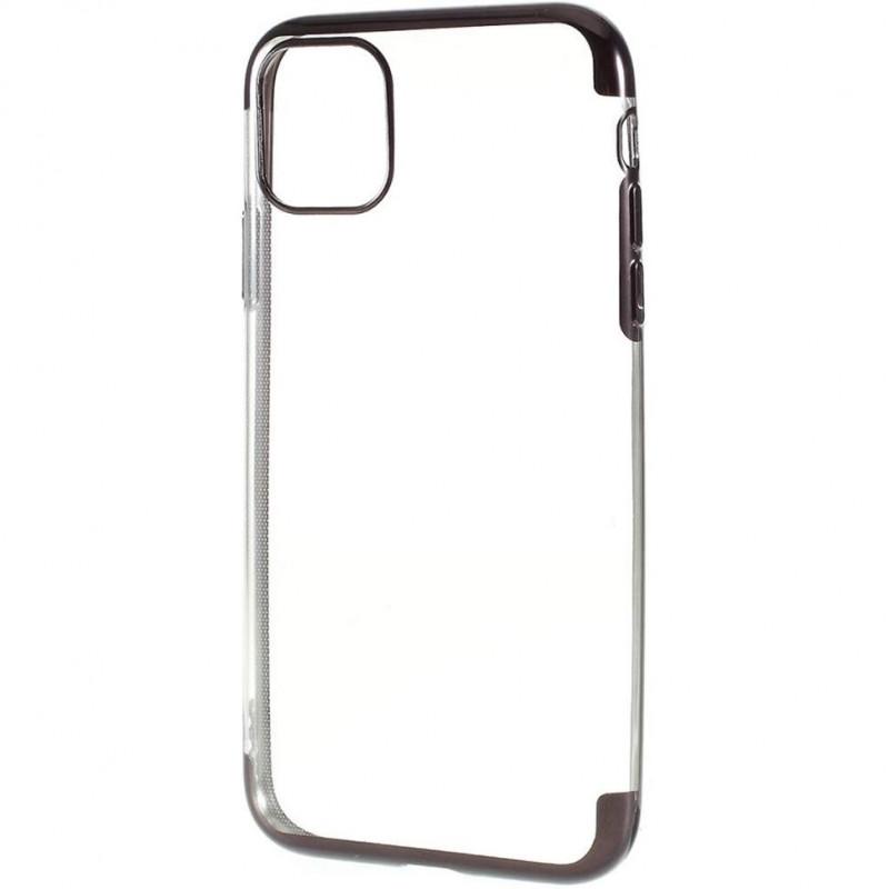 Husa iPhone 11 Pro Max TPU Elegance, Black - TemperedGlass.ro