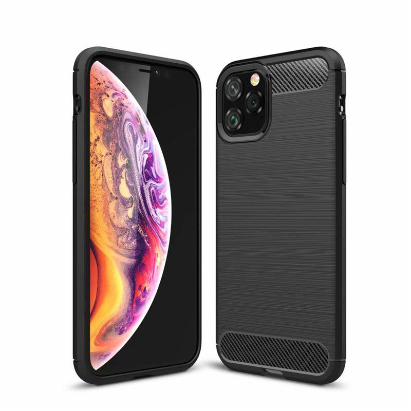 Husa iPhone 11 Slim Armor TPU, Black - TemperedGlass.ro