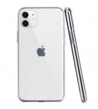 Husa iPhone 11 Slim TPU, Transparenta