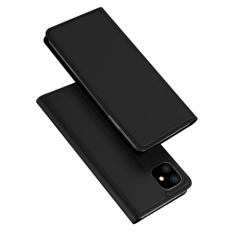 Husa iPhone 11 tip carte Dux Ducis Skin Pro, Black