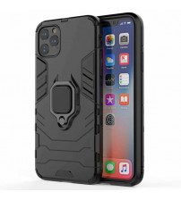 Husa iPhone 12 Pro Max Magnet Slim Ring, Black