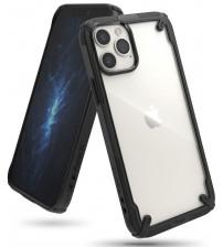 Husa iPhone 12 / 12 Pro originala RINGKE Fusion X, Black