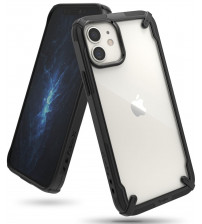 Husa iPhone 12 Mini originala RINGKE Fusion X, Black
