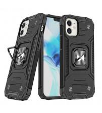 Husa iPhone 12 mini Wozinsky Ring Armor Rugged, Black