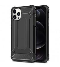 Husa iPhone 12 Pro Max Rigida Hybrid Shield, Black