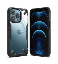 Husa iPhone 13 Pro Max originala RINGKE Fusion X, Black