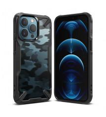Husa iPhone 13 Pro Max originala RINGKE Fusion X Camo, Black