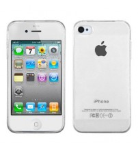 Husa iPhone 4 / 4S Slim TPU, Transparenta