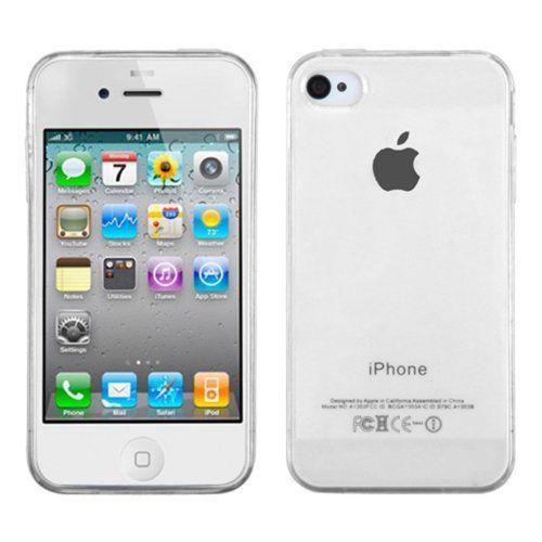 Husa iPhone 4 / 4S transparenta, Huse iPhone - TemperedGlass.ro
