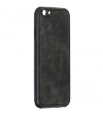 Husa iPhone 6S Denim Magnet TPU, Black