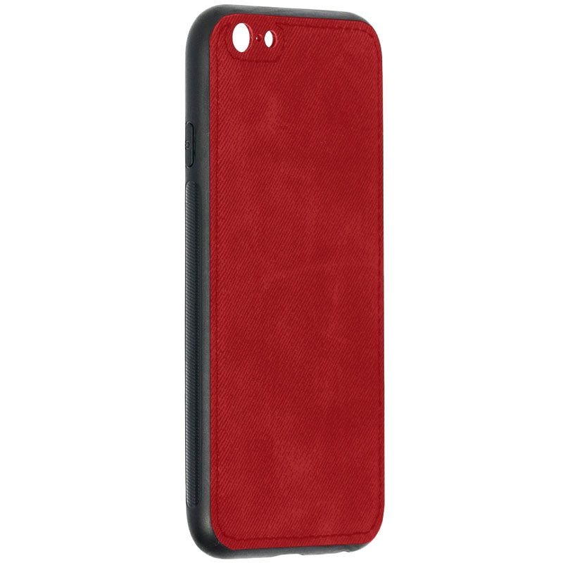 Husa iPhone 6 Denim Magnet TPU, Red - TemperedGlass.ro
