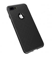 Husa iPhone 8 Gel TPU Fiber, Black