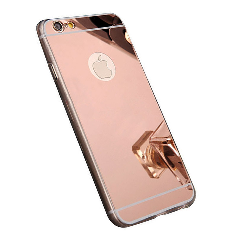 Husa iPhone 6 Oglinda Luxury, Rose Gold