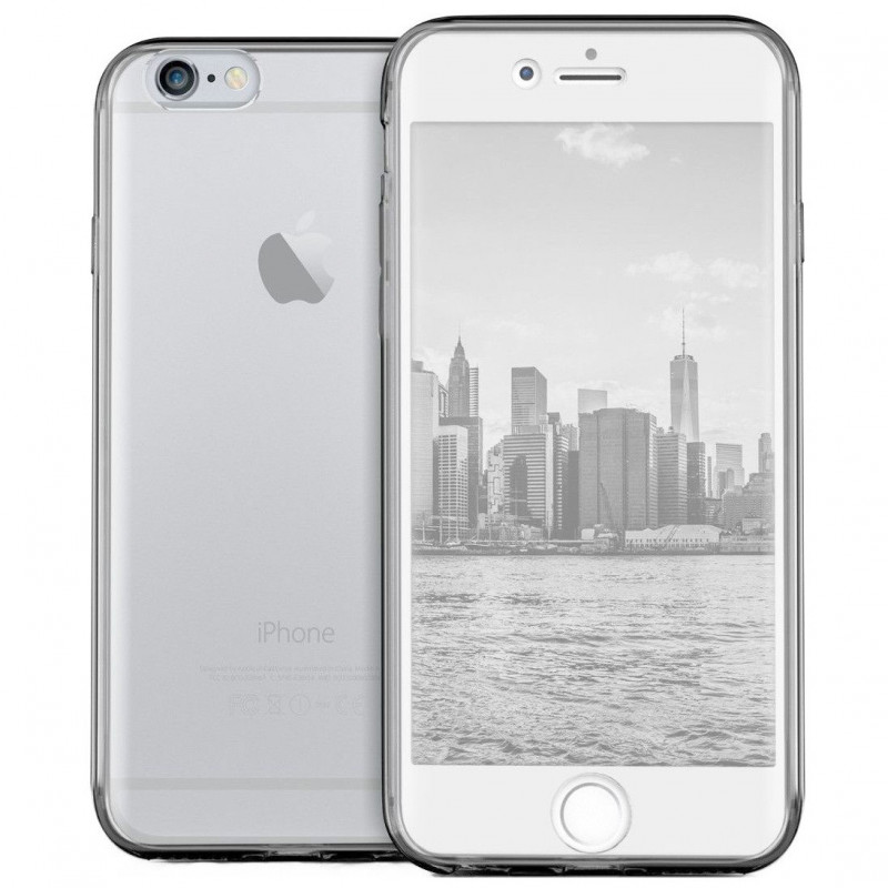 Husa iPhone 6 TPU Full Cover 360, Transparenta