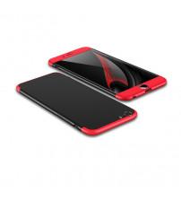 Husa iPhone 6S GKK Full Cover 360, Black-Red