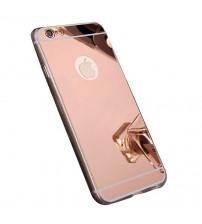 Husa iPhone 6S Oglinda Luxury, Rose Gold