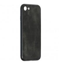 Husa iPhone 7 Denim Magnet TPU, Black