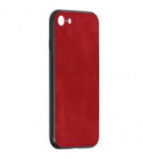 Husa iPhone 7 Denim Magnet TPU, Red