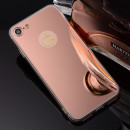 Husa iPhone 7 Oglinda Luxury, Rose Gold
