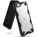 Husa iPhone 7 originala RINGKE Fusion X, Black