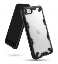 Husa iPhone 7 originala RINGKE Fusion X, Black