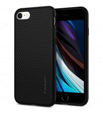 Husa iPhone 7 originala SPIGEN Liquid Air, Matte Black