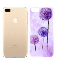 Husa iPhone 7 Plus, Pink Dandelion