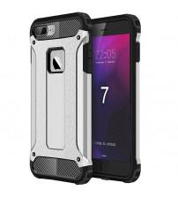 Husa iPhone 7 Rigida Hybrid Shield, Silver
