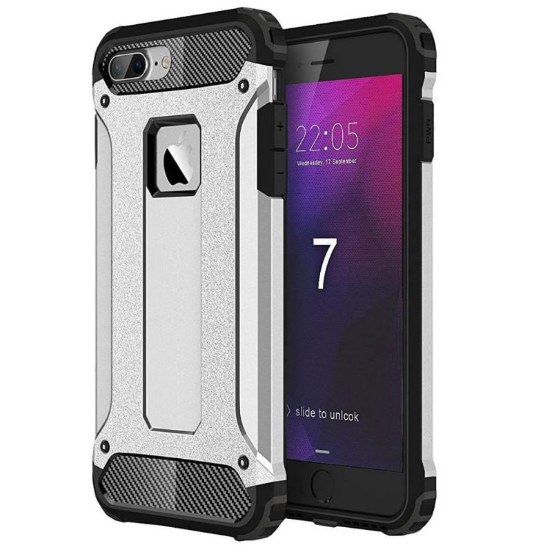 Husa iPhone 7 Rigida Hybrid Shield, Black