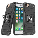 Husa iPhone 7 Wozinsky Ring Armor Rugged, Black