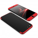 Husa iPhone 8 GKK, Black-Red