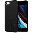 Husa iPhone 8 originala SPIGEN Liquid Air, Matte Black