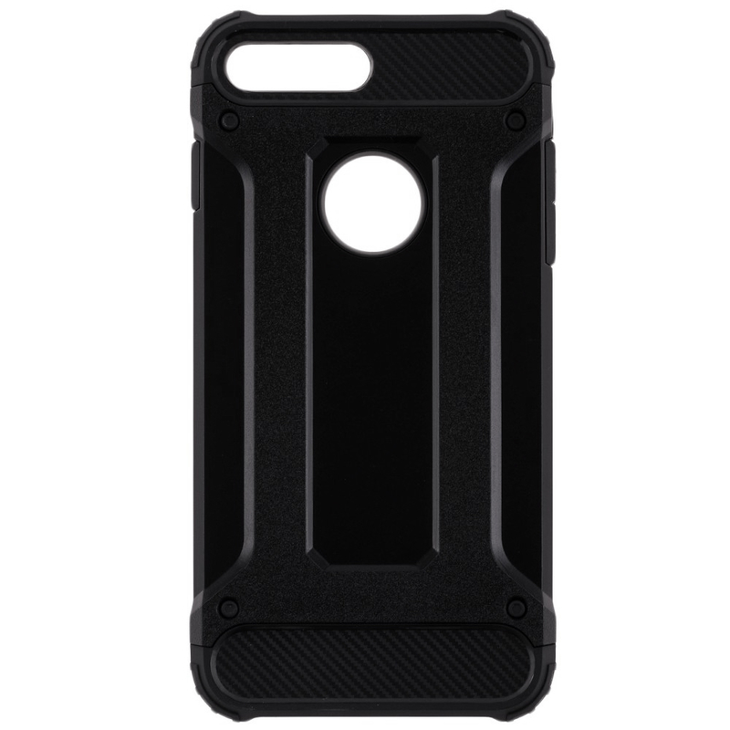 Husa iPhone 7 Rigida Hybrid Shield, Black