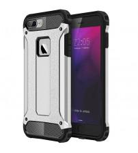 Husa iPhone 8 Rigida Hybrid Shield, Silver