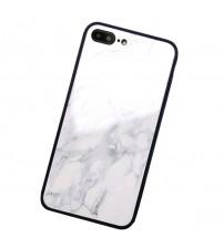 Husa iPhone X Glass Back, Marble