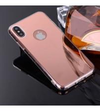 Husa iPhone XR Oglinda Luxury, Rose Gold