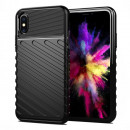Husa iPhone XS Thunder Rugged TPU, Black