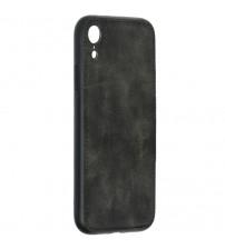 Husa iPhone XR Denim Magnet TPU, Black