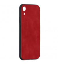 Husa iPhone XR Denim Magnet TPU, Red