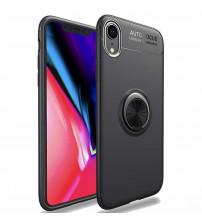 Husa iPhone XR Magnet Round Ring, Black