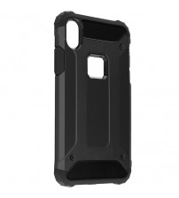 Husa iPhone XR Rigida Hybrid Shield, Black
