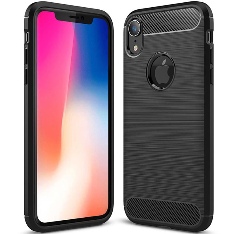 Husa iPhone XR Slim Armor TPU, Black - TemperedGlass.ro