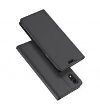 Husa iPhone XR tip carte Dux Ducis Skin Pro, Black