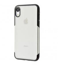 Husa iPhone XR TPU Elegance, Black