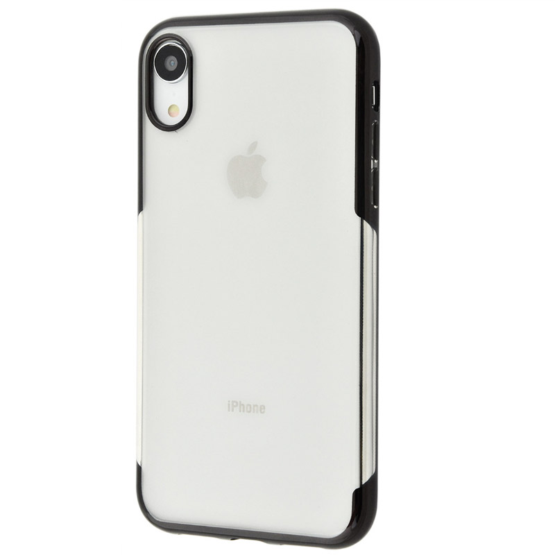 Husa iPhone XR TPU Elegance, Black - TemperedGlass.ro