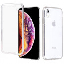 Husa iPhone XR TPU Full Cover 360 (fata+spate), Transparenta