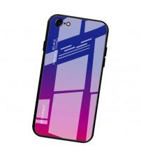 Husa iPhone 8 Gradient Glass, Blue-Purple