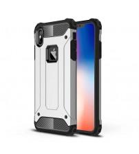 Husa iPhone XS Max Rigida Hybrid Shield, Silver